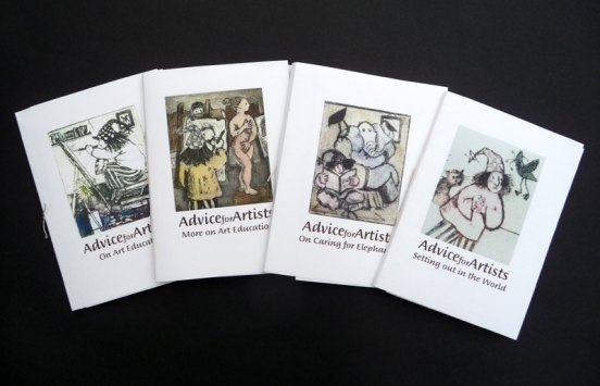 Advice for Artists (Four books)
